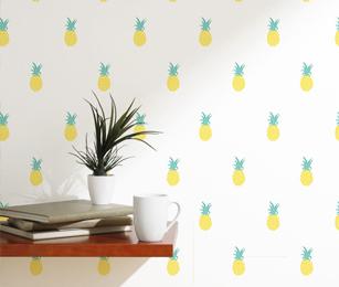 Adesivo de abacaxis 307x260 b2