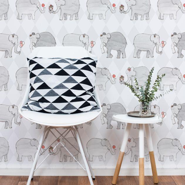 Adesivo Elefantes por Alexandre Oliveira