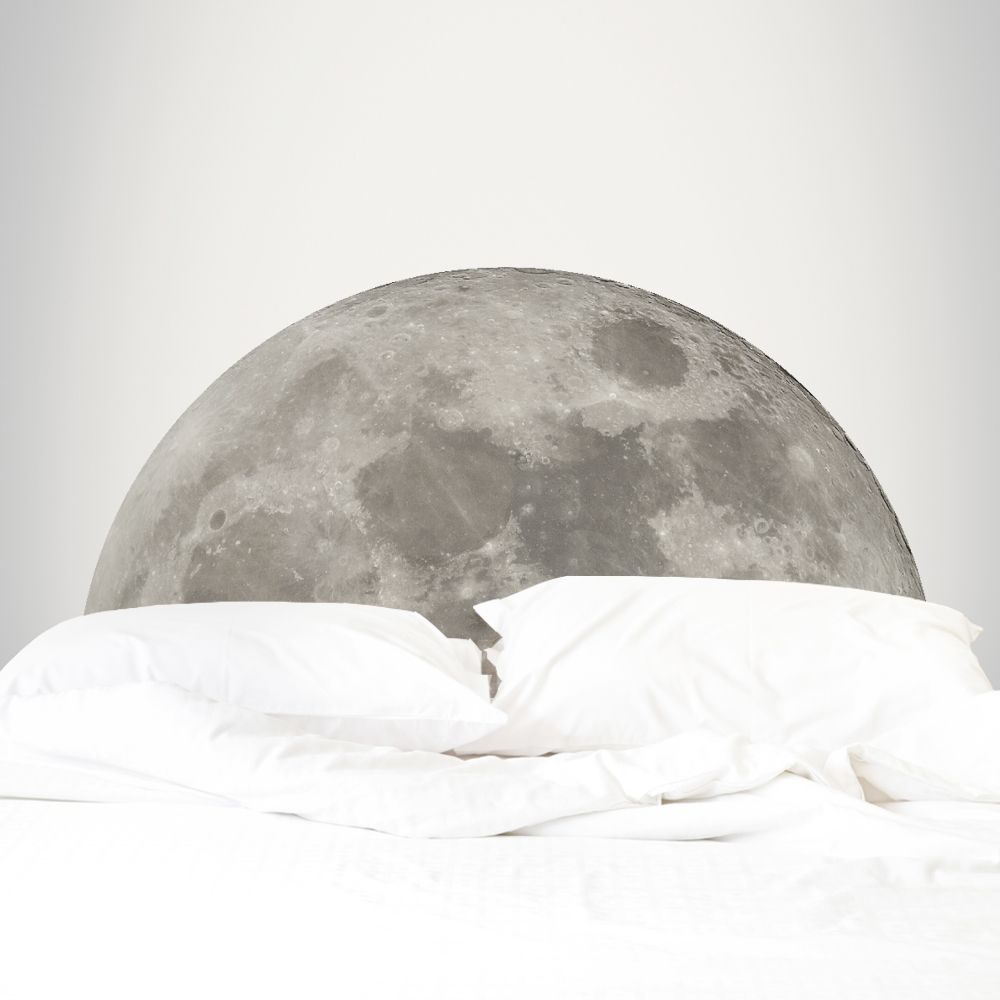 Adesivo para Cabeceira Lua 150x77cm
