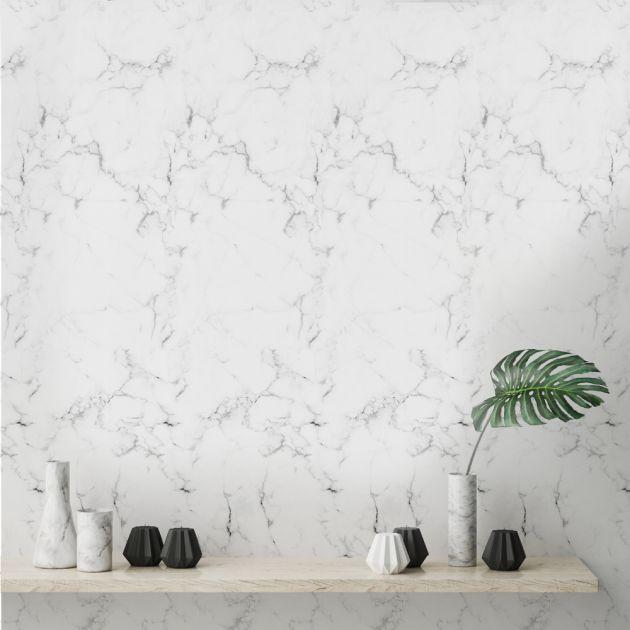 Adesivo White Marble